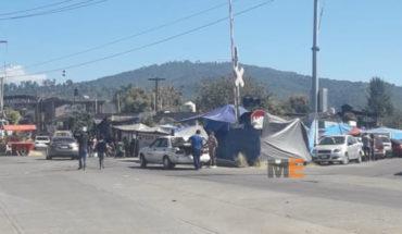 CNTE denies that blocking Caltzontzin, Uruapan tenure