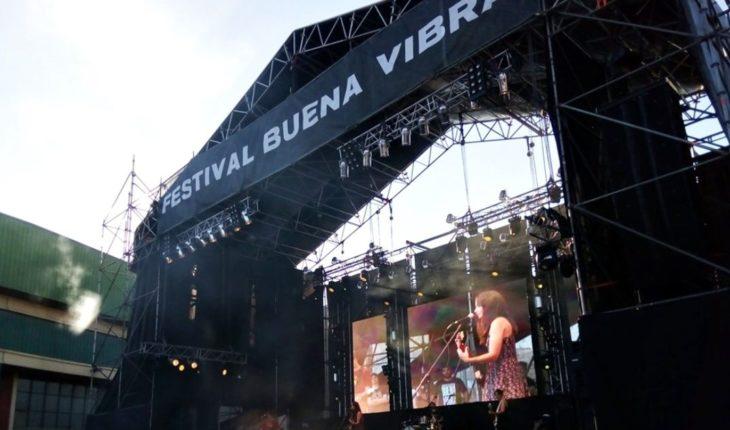 Calor, música y reclamos sociales: así se vivió el Festival Buena Vibra
