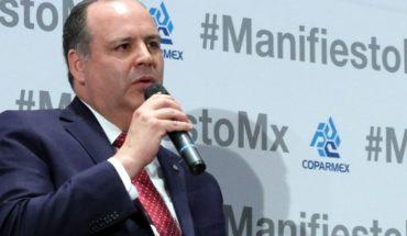 Coparmex apoya la creación de la Guardia Nacional