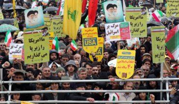 'Death to America', Korean Iranians on anniversary of Islamic revolution Tehran