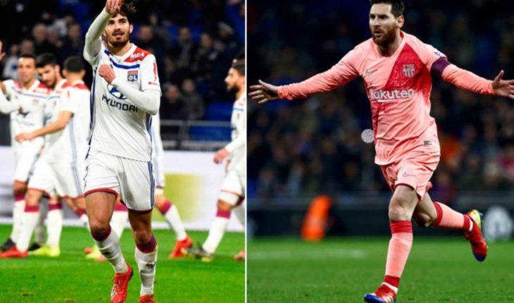 El Barcelona se mide al Lyon con la presión de ganar la Champions League