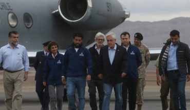 El Loa province is officially a disaster zone: Piñera announced Decree
