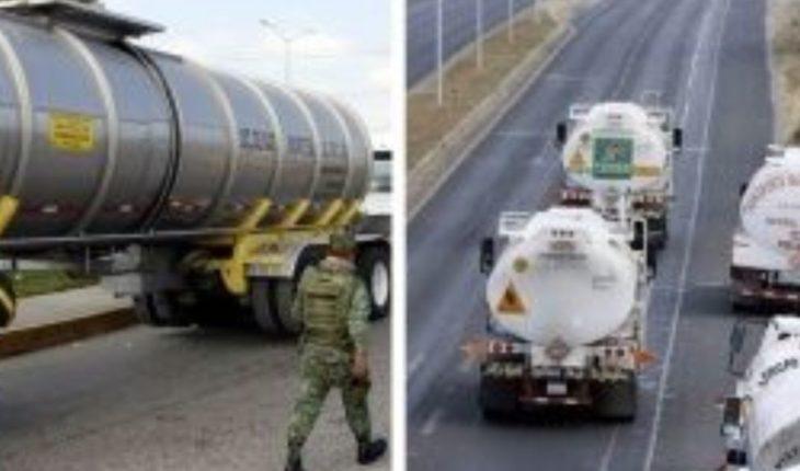 En retén falso roban tres pipas con gasolina en Veracruz
