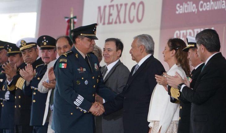 Familias demandan presencia del Ejército: titular de Sedena