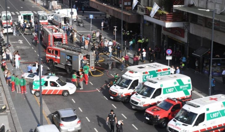Fire at a hotel in downtown Buenos Aires: killed two women