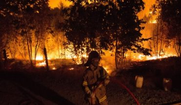 Forest fires: curfew in Concepcion province enacted after suspected foci simultaneous