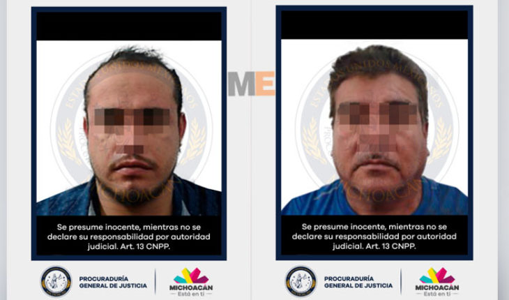 Freed kidnap victim and detain two suspects involved in Morelia Morelia