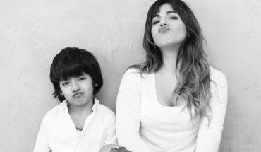 Giannina Maradona: las fotos con Diego y el Kun por el cumple de su hijo