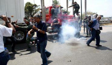 Guardia Nacional venezolana bloquea caravana de diputados camino de la frontera