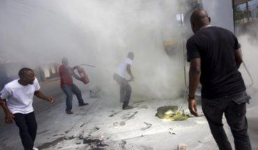 Haiti: Demonstrators demand the resignation of President Moise