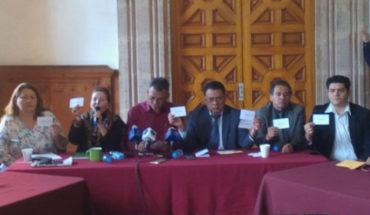 Hubo clonación de boletas en la selección del Fiscal de Justicia, acusan diputados Morena