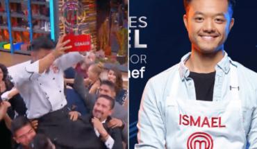 "Ismael ""El Chino"" is the winner of MasterChef Mexico"