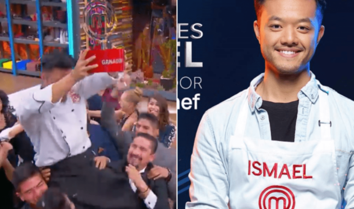 "Ismael ""El Chino"" is the winner of MasterChef Mexico"