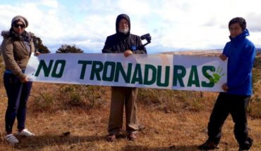 """It was the first blast in Isla Riesco: environmentalists to that it is """"a grim day for a sustainable Chile"""""""