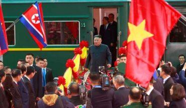Kim Jong-un llega a Hanoi para reunirse con Donald Trump