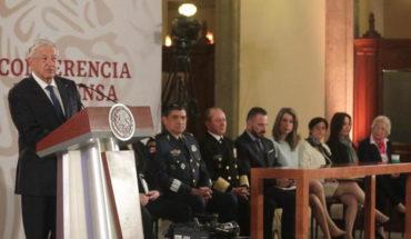 La facultad de nombrar al jefe de la Guardia Nacional, recae en el titular del jefe del Ejecutivo: AMLO
