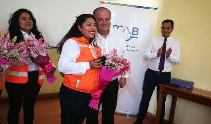 Labour Minister stressed commitment of the FCAB with the incorporation of women to the rail world