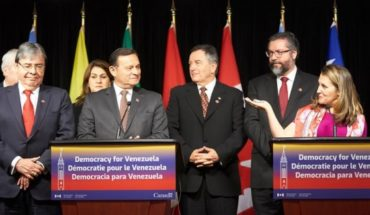 Lima group requests to Venezuelan armed forces that they fit with guided