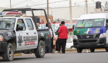 Linchan a presunto asaltante de una combi en Ecatepec