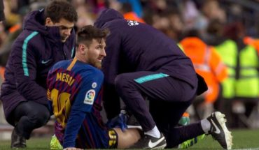 Messi doubt for the first of three shocks Barcelona-Madrid