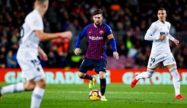 Messi with a nuisance that worries facing the classic with Real Madrid