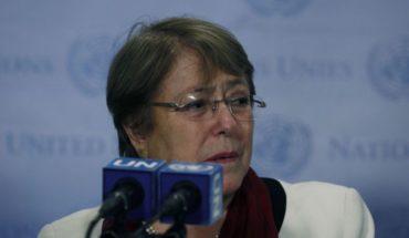 """Michelle Bachelet condenó """"violencia en las fronteras de Venezuela"""""""