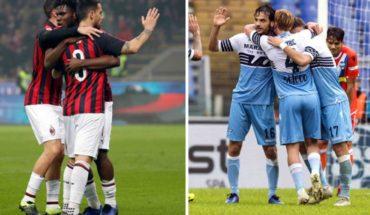Milan y Lazio buscan tomar ventaja en semifinales de la Copa de Italia