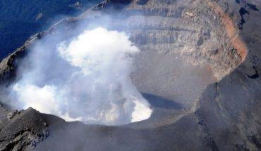 Nuevo domo se forma en el cráter del Popocatépetl