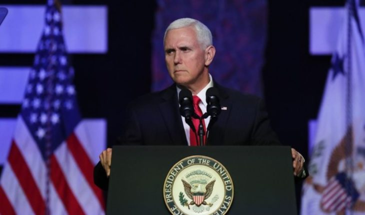 """Pence: """"is the time to put an end to the regime of Maduro"""""""