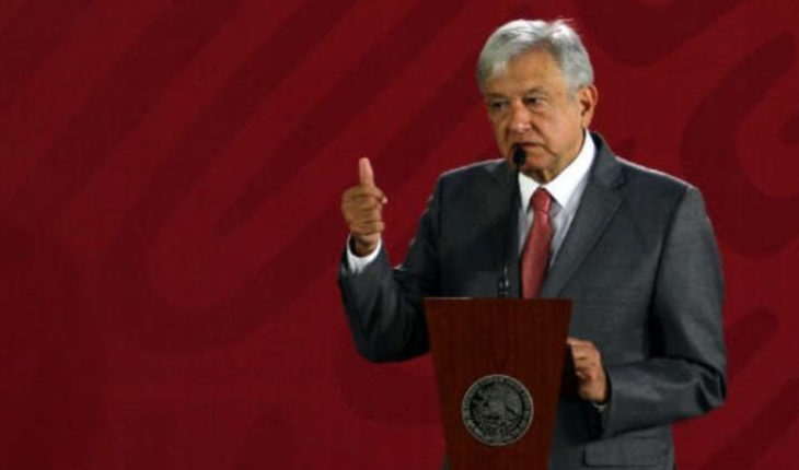 """""""People get tired of so much click transa"""", AMLO on case model"""