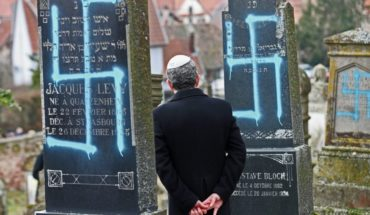 Profanan tumbas en Francia antes de marcha contra antisemitismo