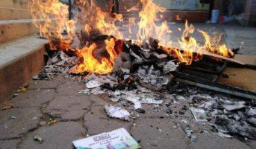 Queman casillas y boletas en dos municipios de Morelos