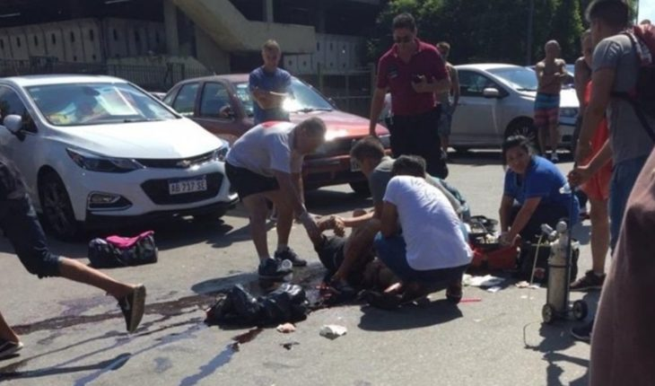 Rags in Palermo fight: one was stabbed and serious