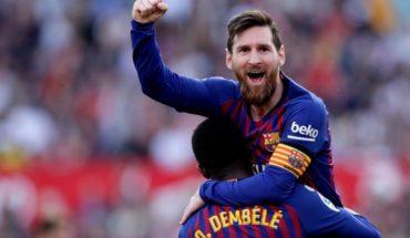 Recital de Messi en Sevilla: tres golazos y nueva victoria de Barcelona