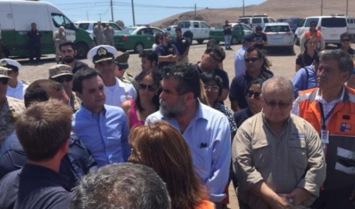 Red alert in Arica: found body of victim product of the overflow of the Acha River
