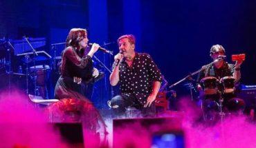 Ricardo Montaner brilló en el escenario junto a Lali Espósito