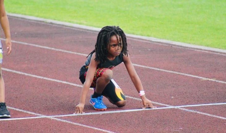 Rudolf Ingram, the heir of Usain Bolt breaking records at age seven