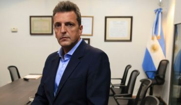 "Sergio Massa: ""there is no future for Argentina in the permanent setting"""