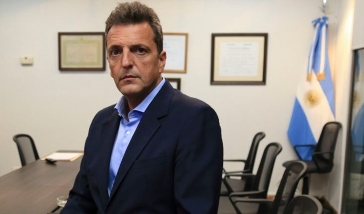 """Sergio Massa: """"there is no future for Argentina in the permanent setting"""""""
