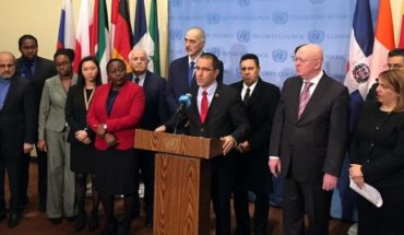 Some 50 countries show their support to Nicolas Maduro at the UN