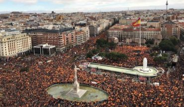 The Spanish right point topped the Centre of Madrid and calls for the resignation of Pedro Sánchez