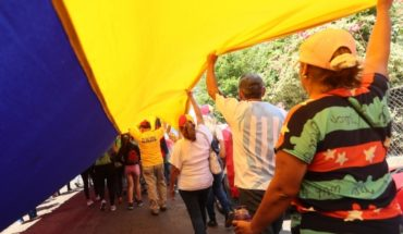 """The """"guided effect"""" once again fill the streets of Venezuela by humanitarian aid"""