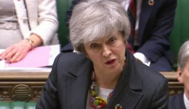 """Theresa May calls """"time"""" for an agreement on the """"brexit"""""""