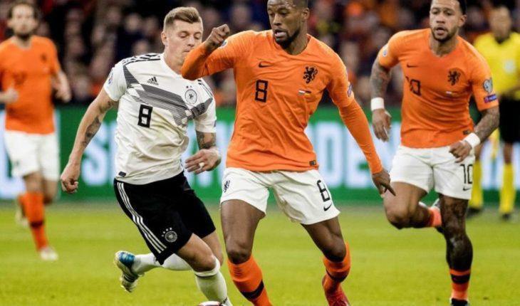 ¡Partidazo! Alemania doblega a Holanda con gol de último minuto