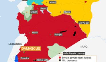 Siria: ¿quién controla qué? Mapa: @AJLabs Aljazeera (CC BY-NC-SA). Blog Elcano