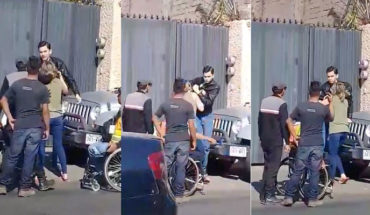 Agreden a un policía de tránsito en silla de ruedas, por intentar poner una multa, en Oaxaca