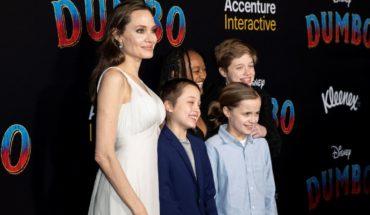 Angelina Jolie y sus hijos causan sensación en la premiere de Dumbo