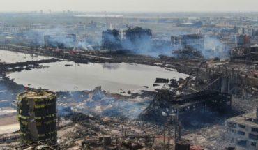 Aumenta a 64 muertos por explosión en planta química en China