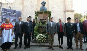 Ayuntamiento de Morelia conmemora el XXXVIII Aniversario Luctuoso de Natalio Vázquez Pallares