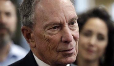 Bloomberg descarta buscar candidatura presidencial demócrata
